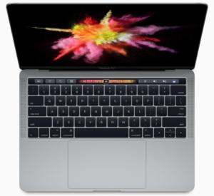 Le macbook pro 13 pouces 2016